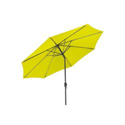 Gartenfreude Sonnensegel Sonnenschirm 300 cm, Wetterfest gelb