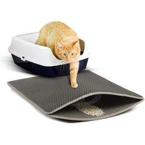 CanadianCat Company ® | Zaubermatte Cat Litter Mat - die Streumatte für die Katzentoilette, anthrazit