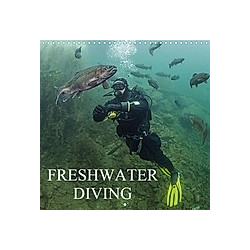 Freshwater Diving (Wall Calendar 2021 300 × 300 mm Square)