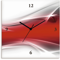 Wanduhr »Kreatives Element«, Wanduhren, 65336263-0 rot rot