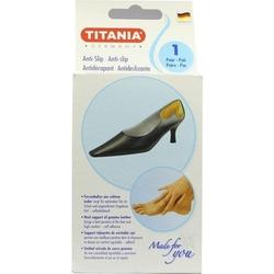 ANTI-SLIP Fersenhalter aus Leder TITANIA 2 St