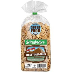 Seitenbacher Müsli Bergsteiger Müsli, Superfood, 750g