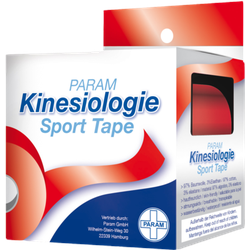 KINESIOLOGIE Sport Tape 5 cmx5 m rot 1 St
