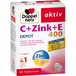 Doppelherz C +Zink +E 400 DEPOT