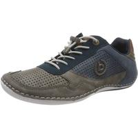 BUGATTI Sneaker, Perforation, Velours-Optik, für Herren