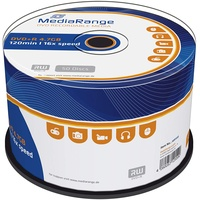 MediaRange DVD+R 4,7GB 16x  50er Spindel
