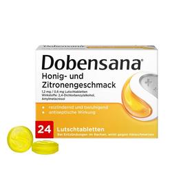 DOBENSANA Honig- u.Zitronengeschm.1,2mg/0,6mg Lut. 24 St