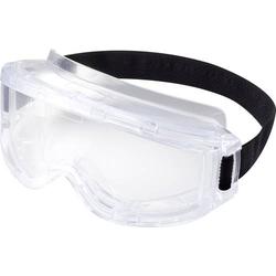 TOOLCRAFT TO-5343216 Vollsichtbrille inkl. Kopfhalterung Klar DIN EN 166