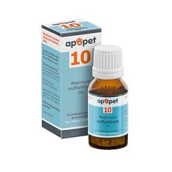 APOPET Schüßler-Salz Nr.10 Natrium sulf.D 6 vet. 12 g