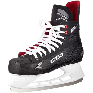 Bauer Herren Pro Skate Sr Feldhockeyschuhe, Schwarz (Schwarz-Weiss-Rot-SI 900), 47 EU