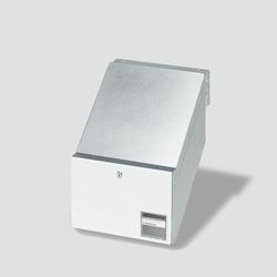 Siedle BKV 611-3/2-0 W Durchwurfbriefkasten für Mauereinbau (200016960-00)