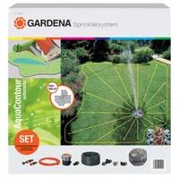 GARDENA Komplett-Set mit Vielflächen-Versenkregner AquaContour automatic (2708-20)
