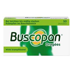 Buscopan® Dragées 50 Stück bei Bauchkrämpfen 50 St