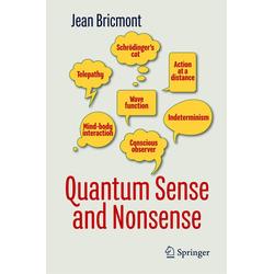 Quantum Sense and Nonsense als Buch von Jean Bricmont