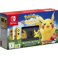 grau / braun / gelb + Pokemon: Let's Go, Pikachu! (Bundle)