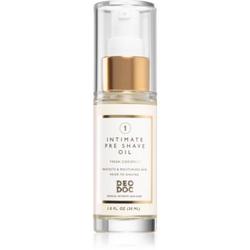 DeoDoc Intimate Pre-shave Oil Öl für die Rasur für Damen 30 ml