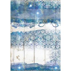Stamperia Seidenpapier Blue Dream, DIN A4