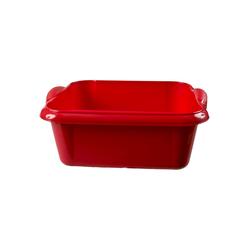 HTI-Living Geschirrspüleinsatz Spülschüssel 10 Liter Quadratisch rot