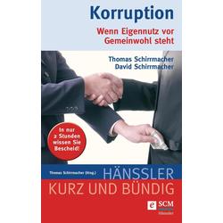 Korruption: eBook von David Schirrmacher