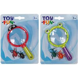 37201227 Toy Fun Lupe mit Käfer Handlupe Linsengröße: (Ø) 60mm