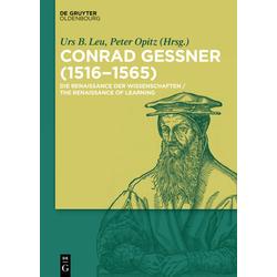 Conrad Gessner (1516-1565) als Buch von
