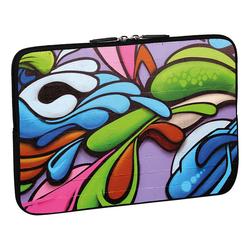 PEDEA Design Schutzhülle: graffiti art 17,3 Zoll (43,9 cm) Notebook Laptop Tasche