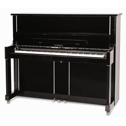 Feurich Mod. 125 Design Piano Schwarz - Chrom