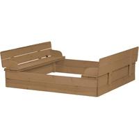 Roba Sandkasten, aufklappbar zu 2 Bänken, BxTxH: 127x123,5x21,5 cm