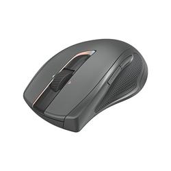 Hama MW-900 Mäuse (Funk, Laser Funkmaus mit 7 geräuschlosen Tasten, Komfortgröße) schwarz