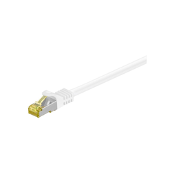 Goobay Patchkabel RJ-45 S/FTP mit Cat7 Rohkabel Netzwerkkabel