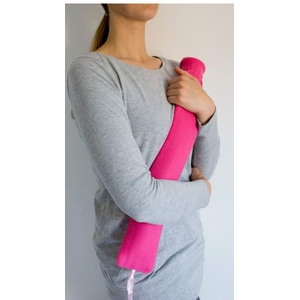 Nackenwärmflasche Wärmflasche für den Nacken blau,pink oder beige sortiert