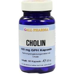 CHOLIN 100 mg GPH Kapseln 60 St