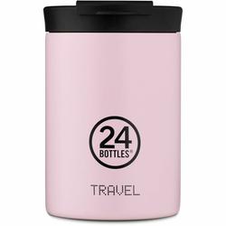 24Bottles Pastel Travel Filiżanka do picia 350 ml candy pink
