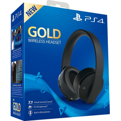 PlayStation 4 Gold Wireless-Headset