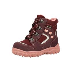 SUPERFIT Stiefel weinrot / rosa / silber, Größe 26, 4961978