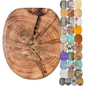 WC Sitz, viele schöne Holz WC Sitze zur Auswahl, hochwertige und stabile Qualität (Old Tree)