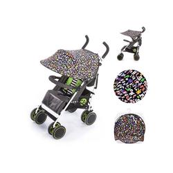 Chipolino Kinderwagenschirm Universal Sonnenschutz Kinderwagen, ABC, Schutz vor Sonne, Wind, Staub