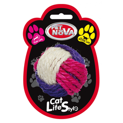 Katzenspielzeug Sisal Ball 6cm