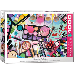 empireposter Puzzle Traumhafte Make Up Farben - 1000 Teile Puzzle im Format 68x48 cm, Puzzleteile