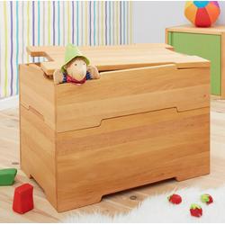 BioKinder - Das gesunde Kinderzimmer Aufbewahrungskorb Kai, mit Rollen und Deckel