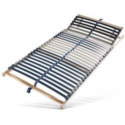 Beco Lattenrost Dura Flex LR-K, 7 Zonen, 2-tlg. ideal für Doppelbetten 80 cm x 200 cm x 7,5 cm