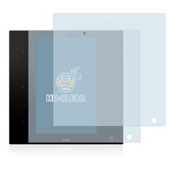 BROTECT Schutzfolie für Zipato ZipaTile Z-Wave Zigbee Gateway, (2 Stück), Folie Schutzfolie klar