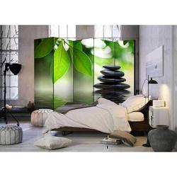 Spa Paravent im Zen Design 225 cm breit