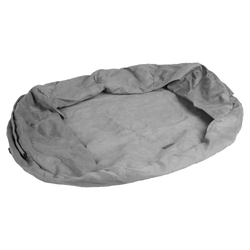 Karlie Ersatzbezug Bett Ortho grau, Maße: 120 x 72 x 24 cm
