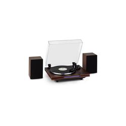 Auna TT-Play PLUS Plattenspieler Lautsprecher 20Wmax. BT 33/45/78 rpm Plattenspieler (Bluetooth)