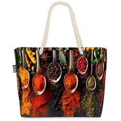 VOID Strandtasche (1-tlg), Gewürze Kochen Küche Gewürze Kochen Küche Pfeffer Hobby Aroma Deko Re