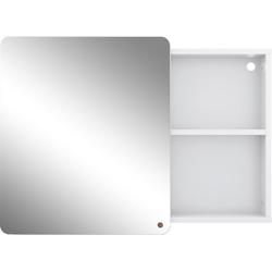 TOM TAILOR Spiegelschrank COLOR BATH mit Spiegel-Schiebetür, Breite 80 cm weiß