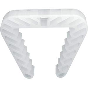 Danto 3 Stück Spar Pack Fensterklammer, Fensterstopper für Rahmenstärke 3,0 bis 5,0 cm, transparent