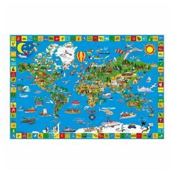 Schmidt Spiele Puzzle Deine bunte Erde, 200 Puzzleteile