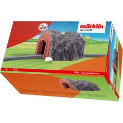 Märklin Modelleisenbahn-Tunnel my world - Tunnel 72202 grau Kinder Schienen Zubehör Modelleisenbahnen Autos, Eisenbahn Modellbau